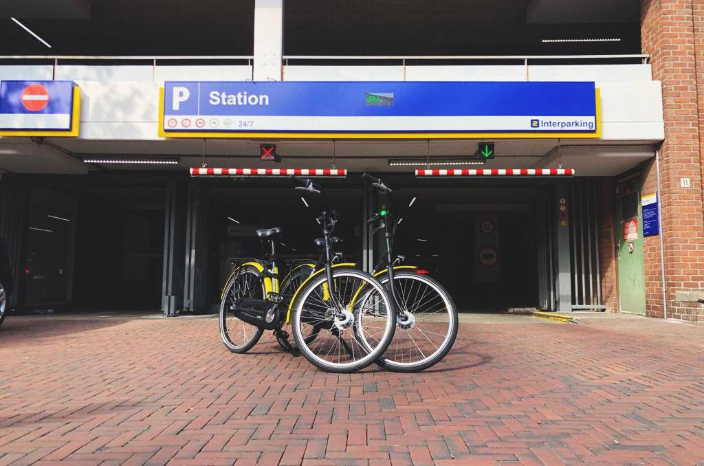 parkeren rent a bike