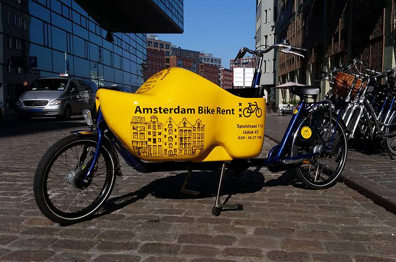 parkeren amsterdam bike rent