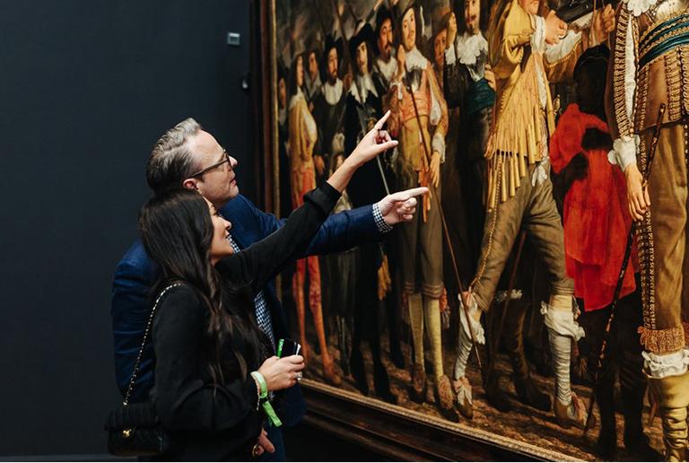 Parkeren bij Rijksmuseum